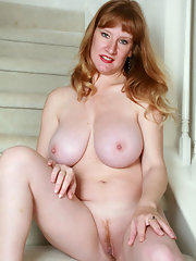Nude mature hazel stairs protest